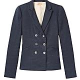Rebecca Taylor Tailored Stretch Linen Blend Jacket