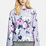 Carven Floral-Print Sweatshirt