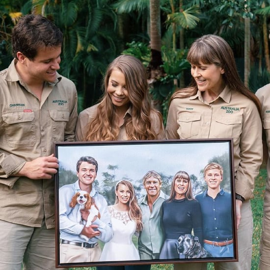 Bindi Irwin Includes Steve Irwin in Wedding Portrait