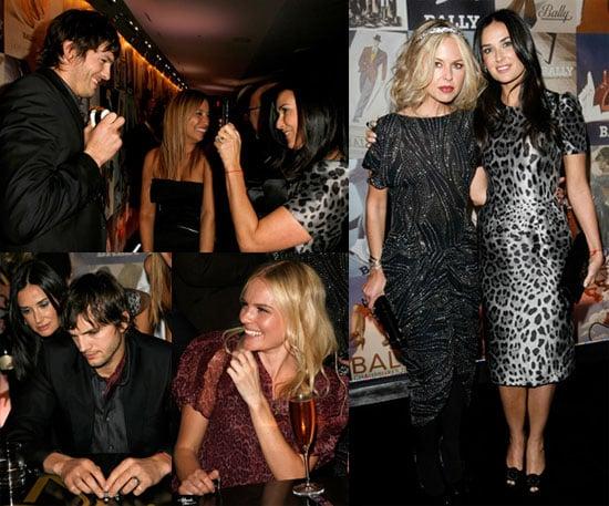 Ashton and Demi's Party