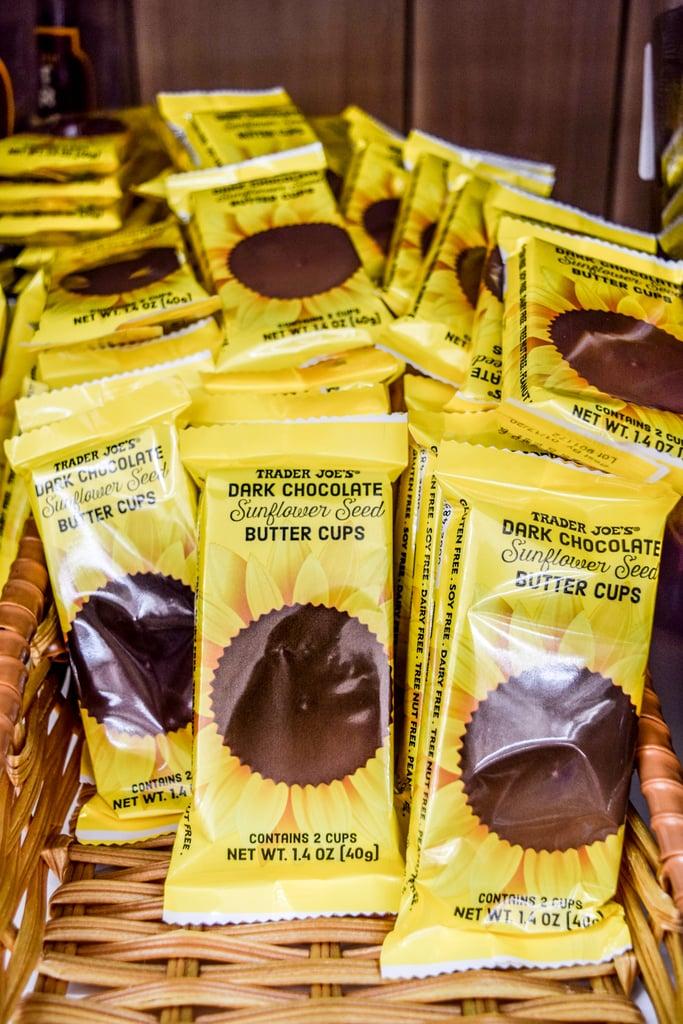 Trader Joe's Dark Chocolate Sunflower Seed Butter Cups ($1)