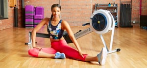 Here's How to Get a Full-Body Workout at the Gym <br>Using Just a Rowing Machine