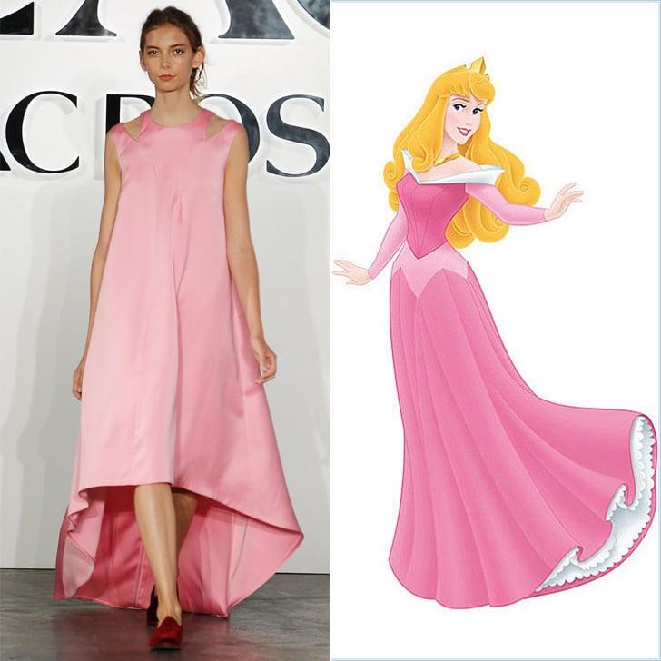 Disney Princess Dresses From The Runway