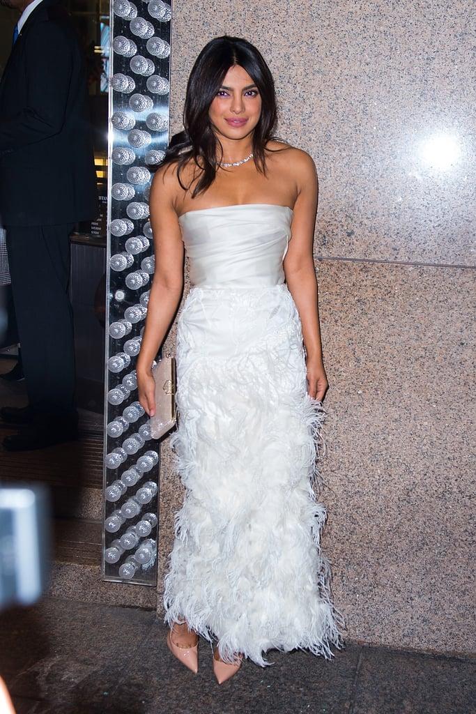 priyanka chopra bridal shower dress marchesa 2018 popsugar fashion australia