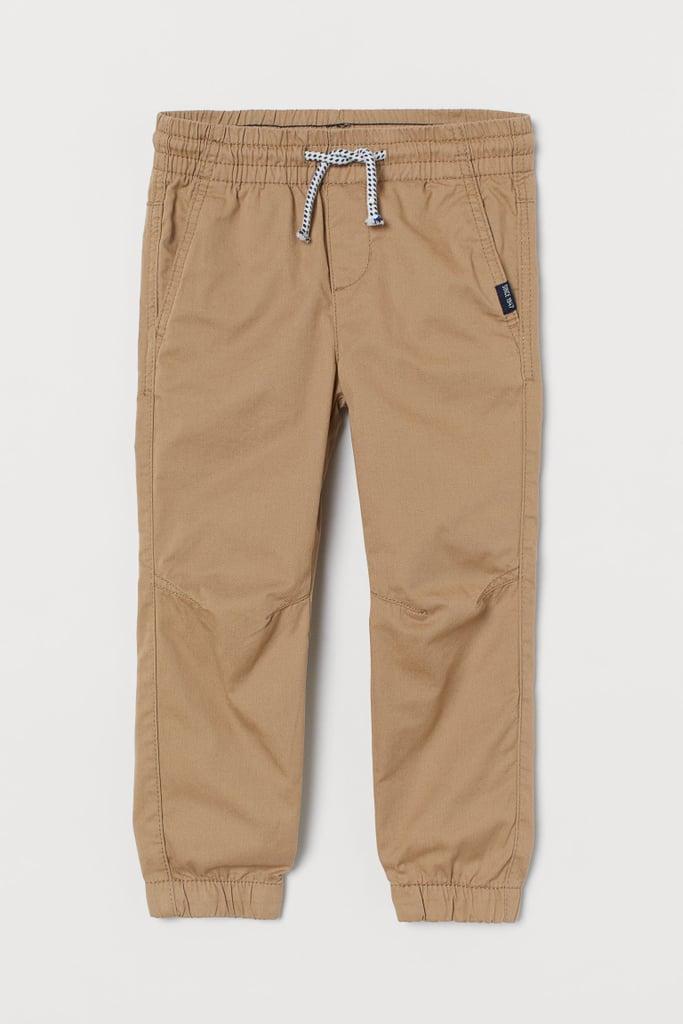 Twill Pull-on Pants