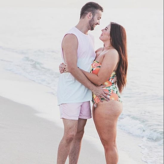 Husband's Body-Positive Message to His Curvy Wife
