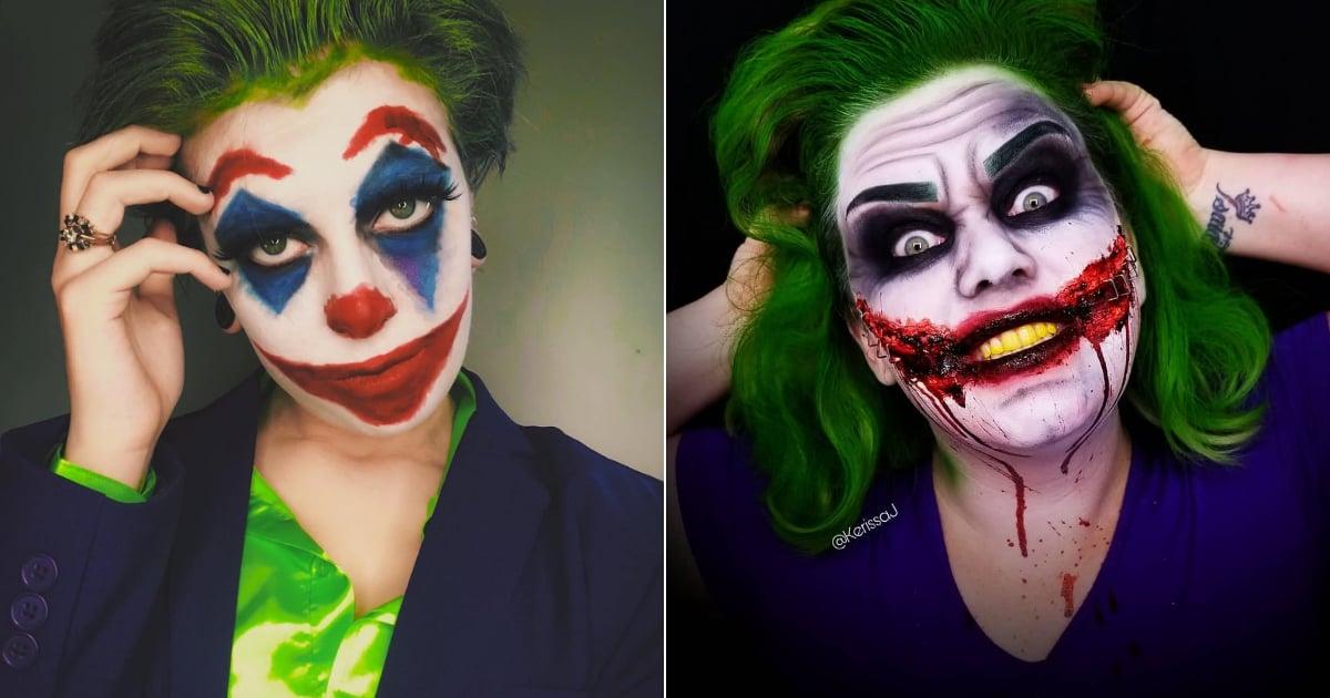 Joker Halloween Makeup Ideas Popsugar Beauty