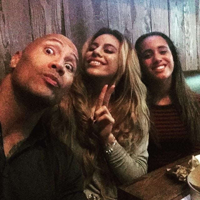 dwayne johnson and his daughter simone s cutest pictures
