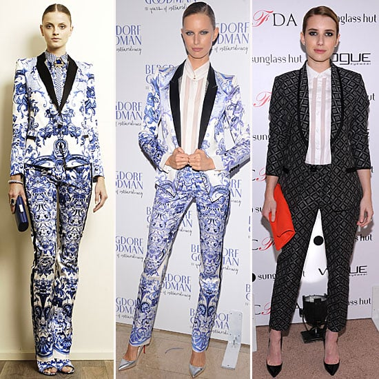 Printed Suit Trend | October 2012