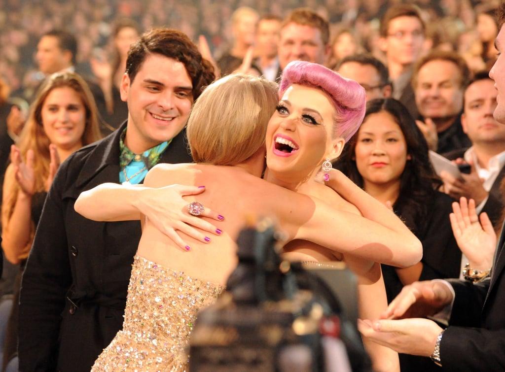 Taylor Swift Hugging Celebrities