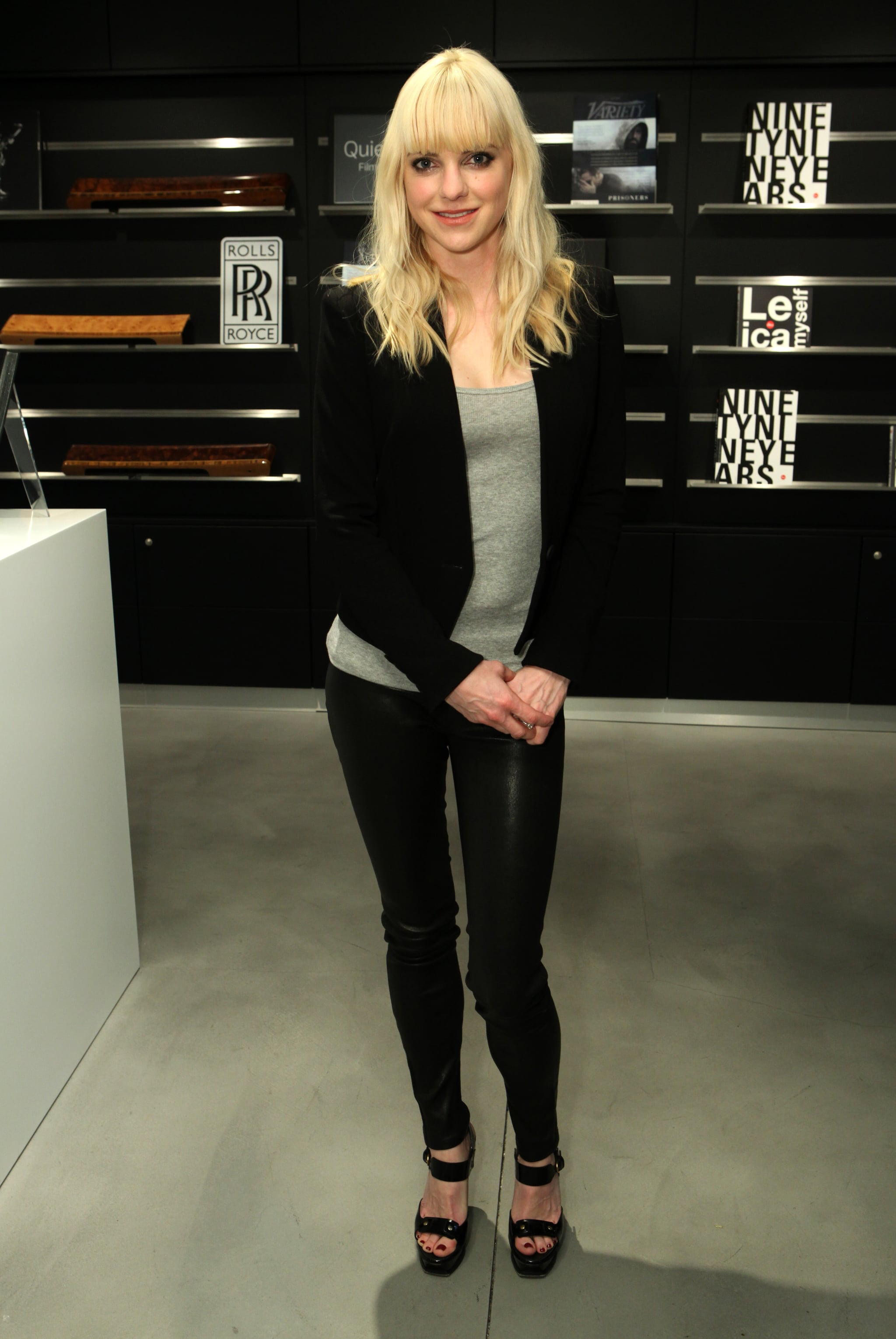 Anna Faris attended the Variety Awards Studio.