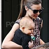 Miranda Kerr Pulls Double Duty on the Runways and With Adorable Flynn in Paris