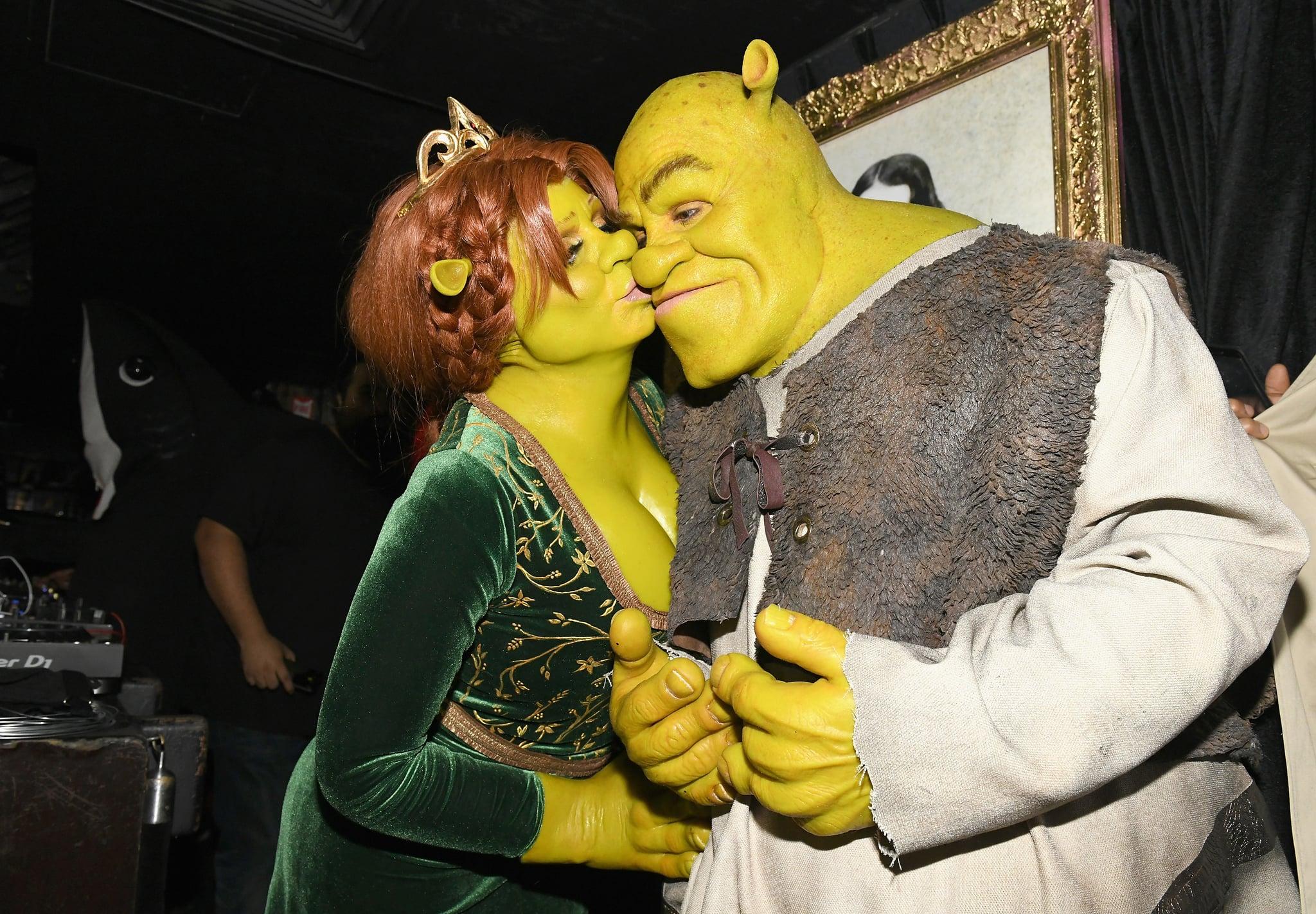Ce sont quelques-uns des costumes les plus emblématiques que les couples de stars ont porté pour Halloween Heidi Klum Tom Kaulitz as Princess Fiona Shrek