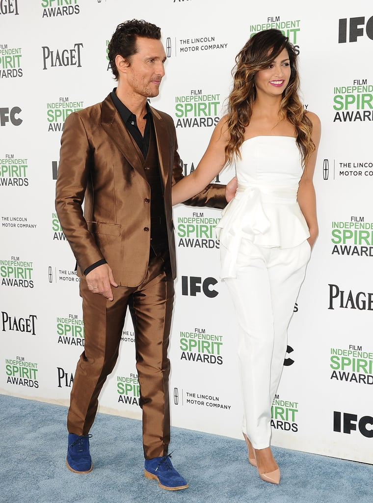 They hit the Independent Spirit Awards red carpet in style in March 2014.