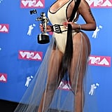 Nicki Minaj Showed Off Her Figure at the MTV Video Music Awards