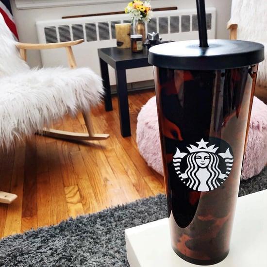 Starbucks Tortoiseshell Cup and Bottle