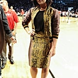 July at the Roc Nation Summer Classic Basketball Tournament in New York City