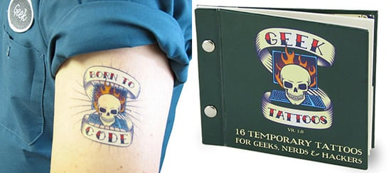 Geek Temporary Tattoos