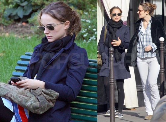 Photos of Natalie Portman Sight-Seeing in Paris