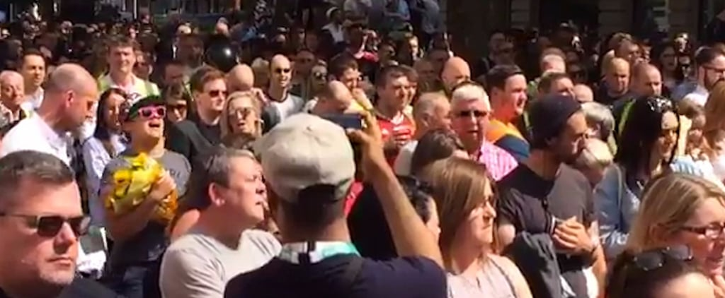 The Beautiful Moment That a Manchester Crowd Proved Their Community's Strength
