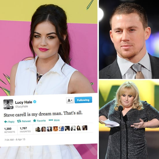 Best Funny Celebrity Tweets: Lucy Hale, Rebel Wilson, Ellen