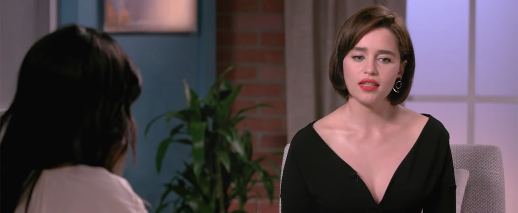 Emilia Clarke Talking About Game of Thrones in Variety Video