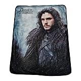 Jon Snow Fleece Throw Blanket