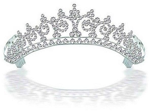 Bling Jewelry Kate Middleton Inspired Royal Wedding Halo Tiara ($41, originally $82)