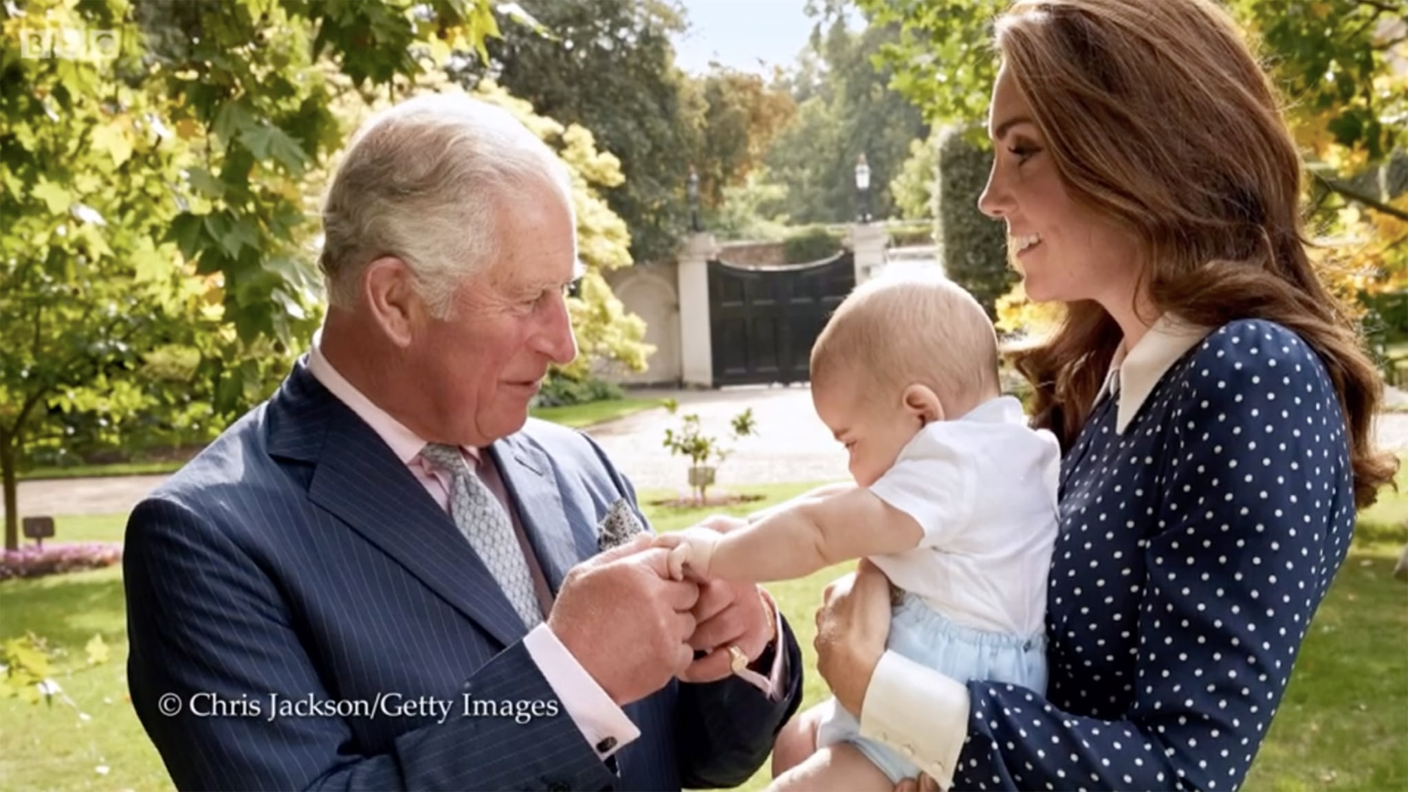 Prince Charles, Prince Louis, Catherine Duchess of CambridgeCredit: Chris Jackson/Getty Images