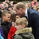 Prince William With Kids in Scotland October 2016