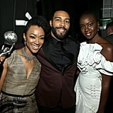 Pictured: Sonequa Martin-Green, Omari Hardwick, and Danai Gurira