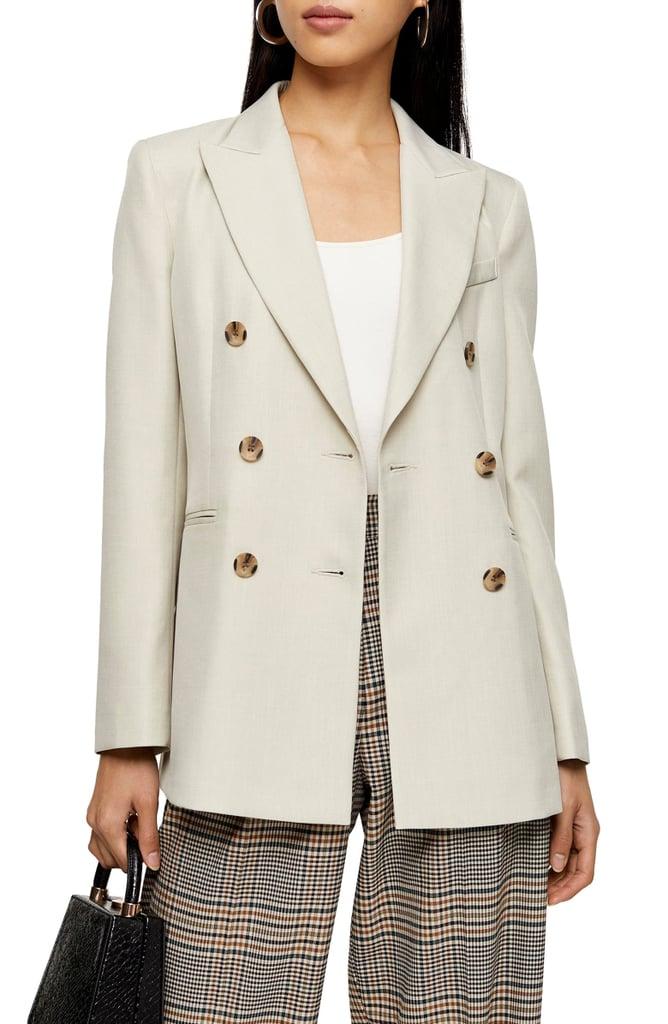 jacket, blazer, outerwear, topshop
