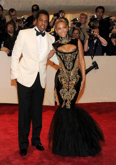 "Jay-Z and Beyonce (2011 Met Gala...""Alexander McQueen: Savage Beauty"")"