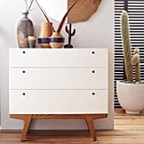 Modern Three-Drawer Dresser