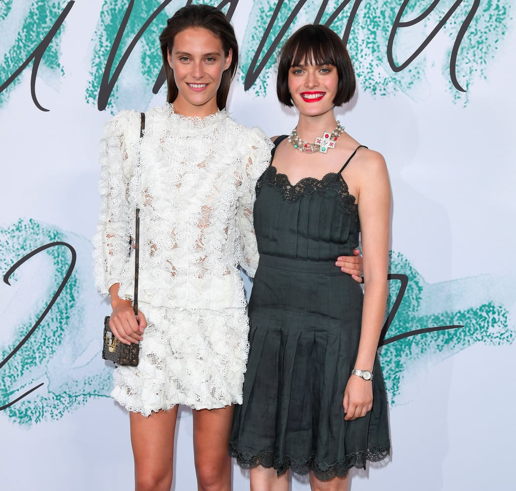 Charlotte Wiggins and Sam Rollinson Outfit Photos