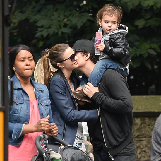 Miranda Kerr and Orlando Bloom | POPSUGAR Celebrity Australia Orlando Bloom And Miranda Kerr Baby Flynn 2013