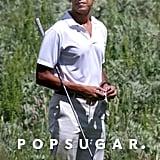 Barack Obama Golfing in Italy May 2017