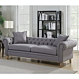 """Madison Chesterfield 85"""" Rolled Arm Sofa"""
