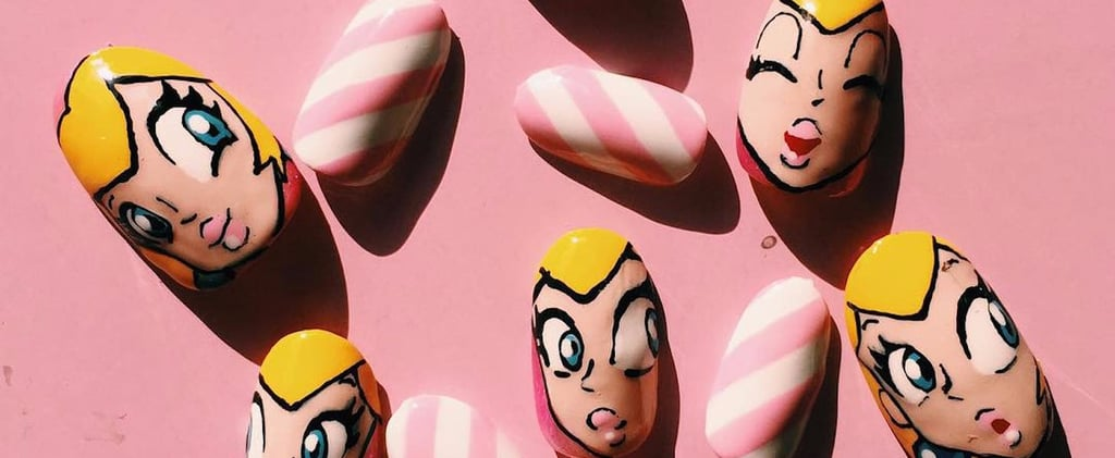 Nintendo Nail Art For When You Need to Rescue Princess Peach in Style