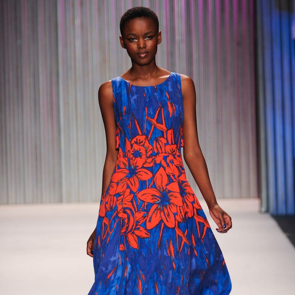 2014 Spring New York Fashion Week Runway Tracy Reese