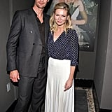 Alexander Skarsgard and Kirsten Dunst at the Melancholia premiere.