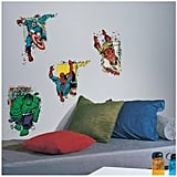 RoomMates Marvel Superhero Burst Peel and Stick Giant Wall Decals