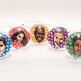 Fab Five Ornaments