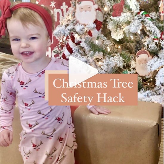Keep Baby Away From the Christmas Tree With This Easy Hack