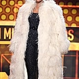 Tracee Then Changed Into This Spectacular Coat