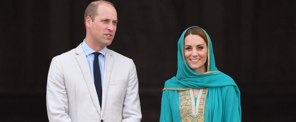 Photos of Princess Diana and Kate Middleton's Pakistan Tours