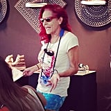 The costume-designing goddess herself, Patricia Field.
