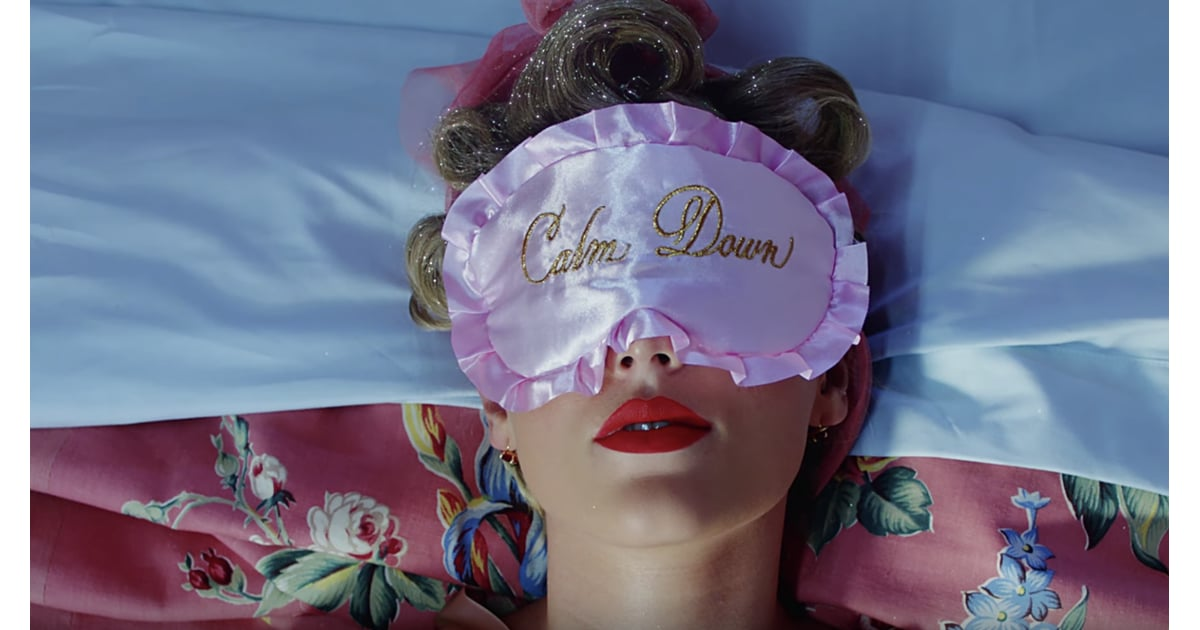 "Taylor Swift's Pin-up Glitter Curls | Beauty Looks in Taylor Swift's ""You  Need To Calm Down"" Video 