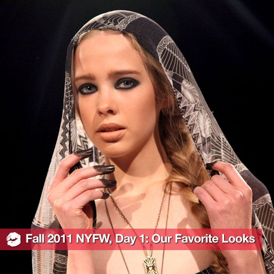 The Best Beauty Looks From Day One of Fall 2011 New York Fashion Week
