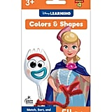 Disney Learning – Colours and Shapes Flash Cards, Toy Story 4, Ages 3+